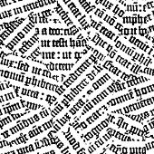 Gutenberg torn. Seamless vector wallpaper