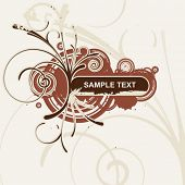 foto of text-box  - vintage abstract background - JPG