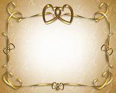 stock photo of 50th  - 3D Illustration for Wedding Invitation Valentine - JPG