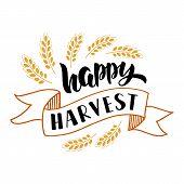 Happy Harvest poster