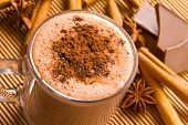Hot chocolate and spices