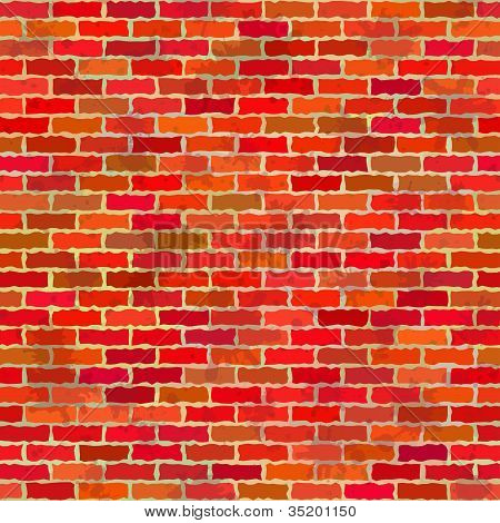 Brick wall, seamless