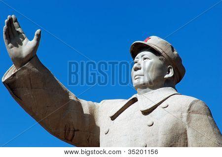 Estatua del Presidente Mao