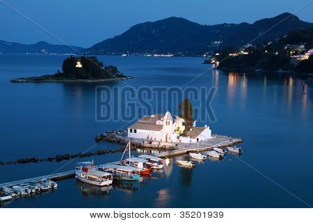 Corfu At Night