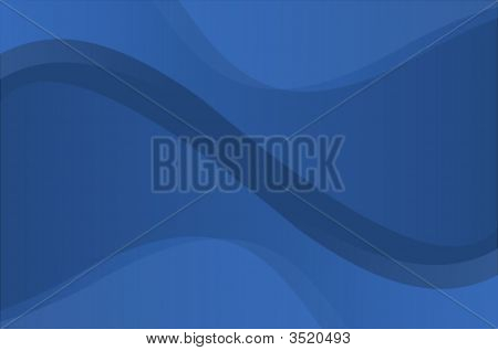 Blue Wavy Background