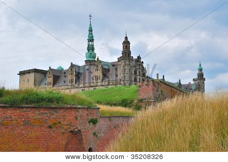 Castle Kronborg In Elsinore
