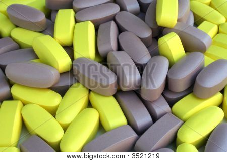 Yellow  Purple Pills