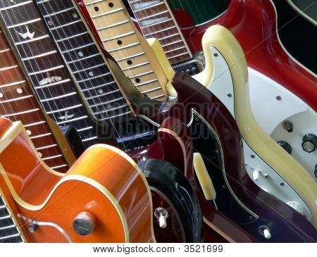 Many Guitars
