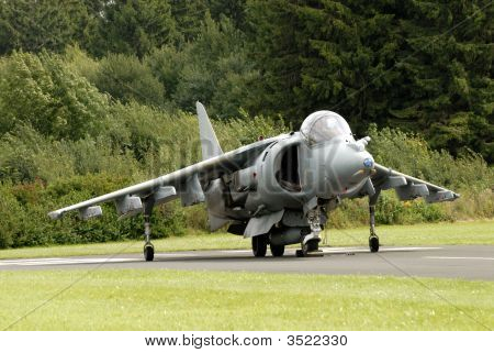 Harrier Attack Aircraft