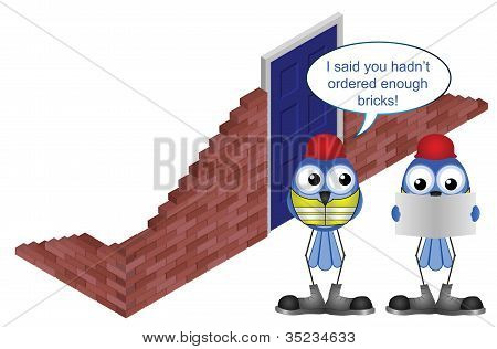 Workers brick order