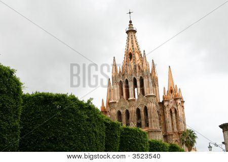 Vintage Catholic Cathedral, Gothic Style 2