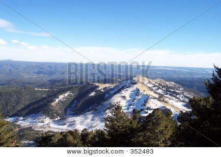 Ruidoso, New Mexico Skyline