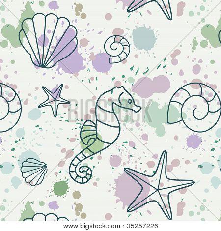 Splash-shell-pattern
