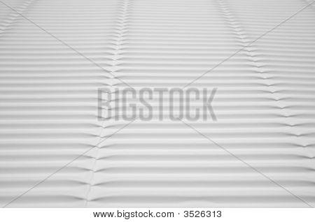 White Corrugated Cardboard