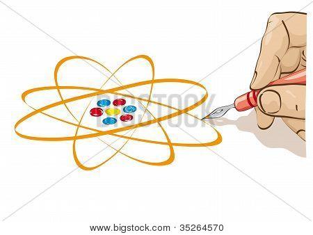 Desenhar o átomo