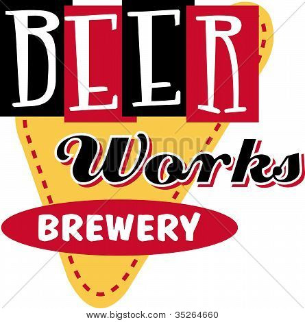 Beer Sign Clip Art