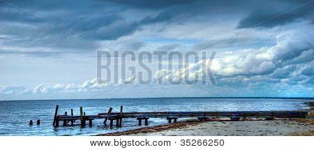 Old pier Western Australia