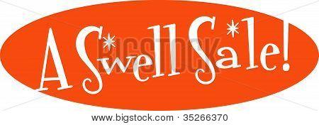 Retro Sign Clip Art Swell Sale
