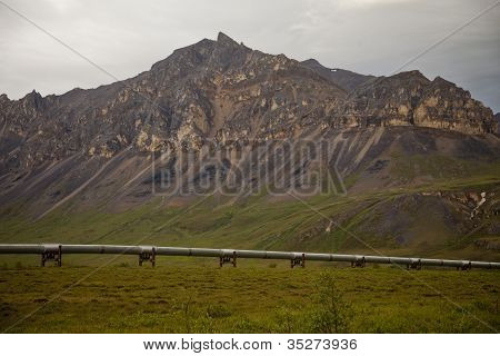 Pipeline In Alaska