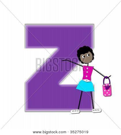 Alphabet Diva Z