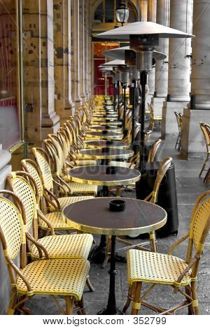 Tables And Chairs In Paris