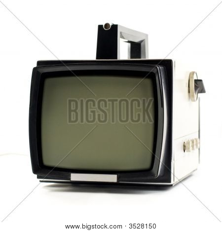 Vintage Portable Tv Set