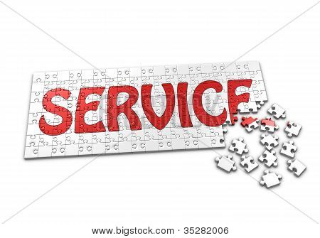 Puzzle Of Service
