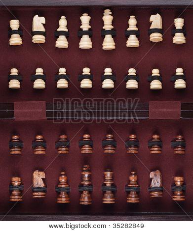 Chessmen In The Box