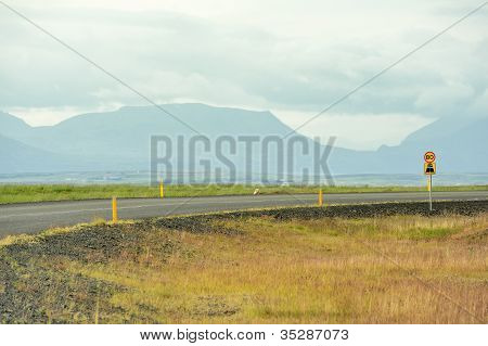 A Road, Iceland