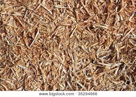 Wooden Chips Closeup
