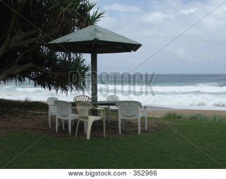 A Beach Setting