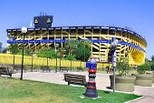 Stadium of Boca Juniors football team
