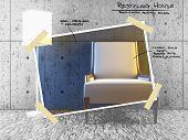 Постер, плакат: Рестайлинг проект дома