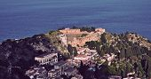 picture of messina  - View of Taormina - JPG