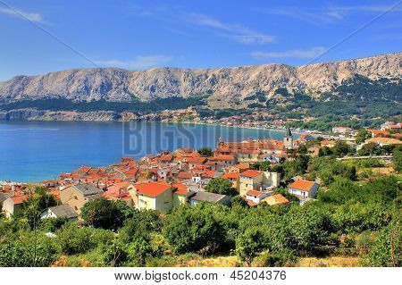 Town of Baska nature and architecture