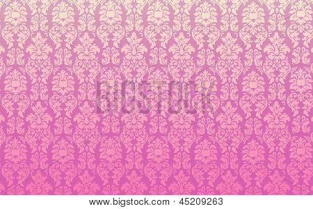 Pink Seamless Damask