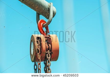 Strong Used Hoist