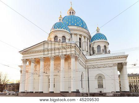 Catedral de la Iglesia Santísima Trinidad del regimiento Izmailovo vida-guardias