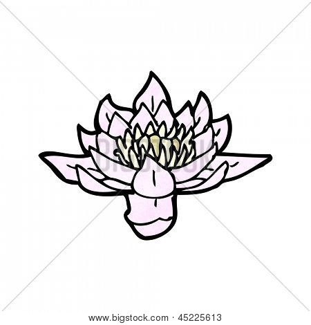 waterlily cartoon