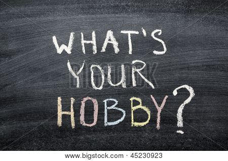 What Your Hobby