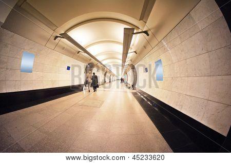 Innere des Metro Vestibül