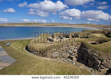 Skara Brae World Heritage Site