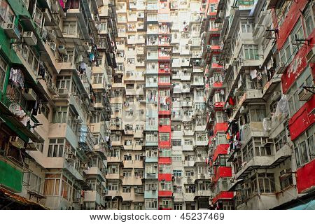 Old apartment in Hong Kong