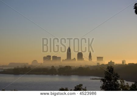 Cleveland Morning Fog