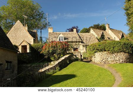 Arlington Row at Bibury in the Cotswolds