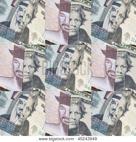 Foreign Money Background