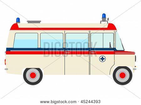 Vintage Ambulance.