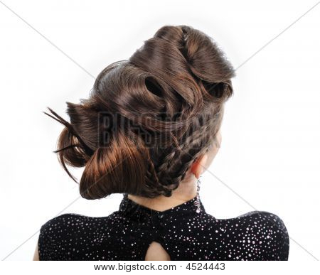 Woman With Style Hairstyle