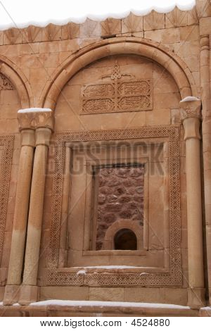 Window Of Ishak Pasha Palace, Eastern Turkey