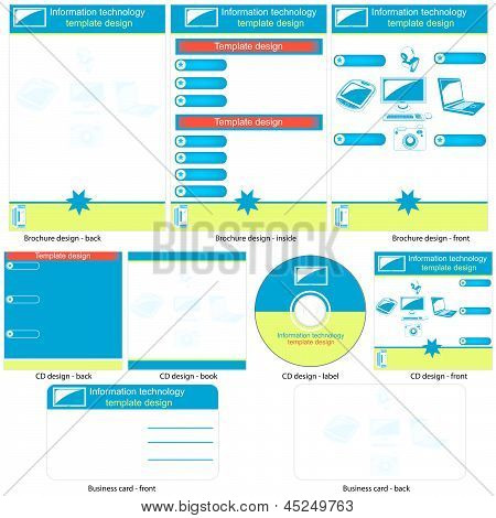 Information Technology Template Design